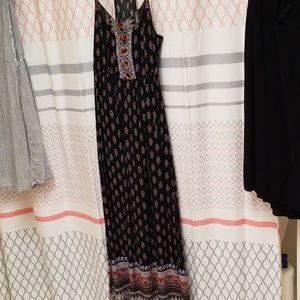 Halter Strap Maxi Dress